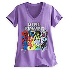 Marvel Super Heroines Tee for Women
