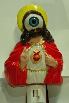 Jesus is watching you.