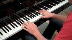 Leonard Cohen - Hallelujah (Shrek - Der Tollkühne Held) Piano Cover