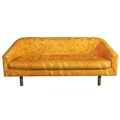 Bold Yellow Loveseat. USA, 1960s. http://www.1stdibs.com/furniture_item_detail.php?id=624531