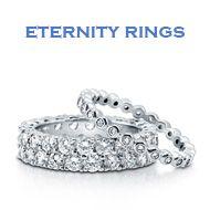 Cubic Zirconia Eternity Rings