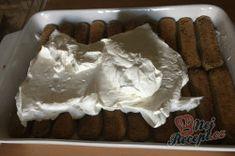 Nejlepší a nejjednodušší tiramisu | NejRecept.cz Tiramisu, Pudding, Desserts, Food, Tailgate Desserts, Deserts, Custard Pudding, Essen, Puddings