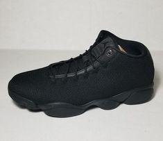 4eeb79fad24 Jordan Horizon Low Triple Black Limited RETRO SNEAKER 845098-010 Men Sz  11.5  Nike  BasketballShoes
