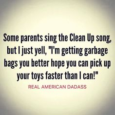 This was me when my kids were little