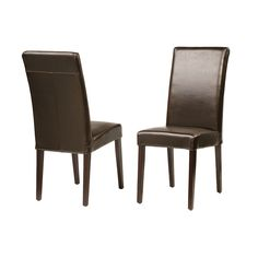 "James Dining Chair 	  James Dining Chair  Bycast  17"" W x 24"" D x 40"" H  Finish/Color(s): Java, Black, Red, Ivory"