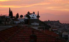 From the house I've born: The Prophète Ilias church, Kavala Paris Skyline, Cool Photos, House, Travel, Viajes, Home, Destinations, Traveling, Trips