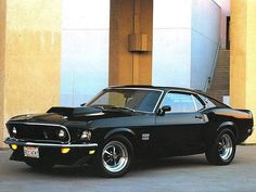 My dream car Black '69 Mustang