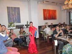 Rocio, mayo 2013 en restaurante Vino Mio