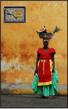 Caribbean lady