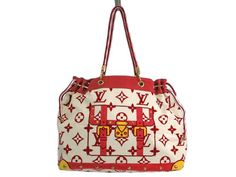 #LOUISVUITTON Cabas Monogram Eponju Shoulder bag Rouge M92096 (BF109960): #eLADY global accepts returns within 14 days, no matter what the reason! For more pre-owned luxury brand items, visit http://global.elady.com