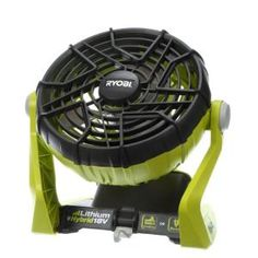 Ryobi ONE+ 18-Volt Hybrid Portable Fan (Tool Only) P3320 at The Home Depot - (NO BATTERY)