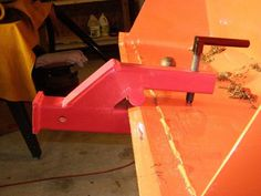 Clamp on trailer hitch for loaders, tractors or skid steers aka Bucket Hitch