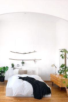 Neutral Bedrooms, Minimalism, Indoor, Interior, Design, Bed Ideas, Home Decor, Tattoo, Home
