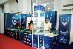 Exhibition Stall for Diva Jewellers. Get a free design for your booth http://www.expodisplayservice.ae/FreeDesign.aspx