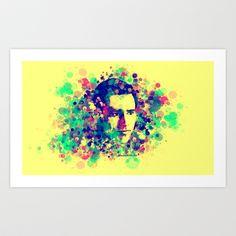 @JimCarrey #Art Print for sale by Rene Alberto - $19.76