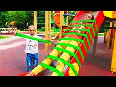 Learn Colors for Children With Baby Wooden Tree Ball Track 3D Kids Toddler Educational Videos - YouTube