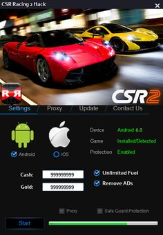 CSR Racing 2 Hack Tool