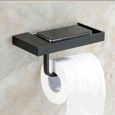 ORB Toilet Roll Holder with Phone Shelf European Antique Bathroom Accessories Copper Black Toilet Paper Holder, Toilet Roll Holder, Bathroom Toilet Paper Holders, Towel Holder, Bathroom Design Luxury, Modern Bathroom, Parisian Bathroom, Zen Bathroom, Small Bathrooms