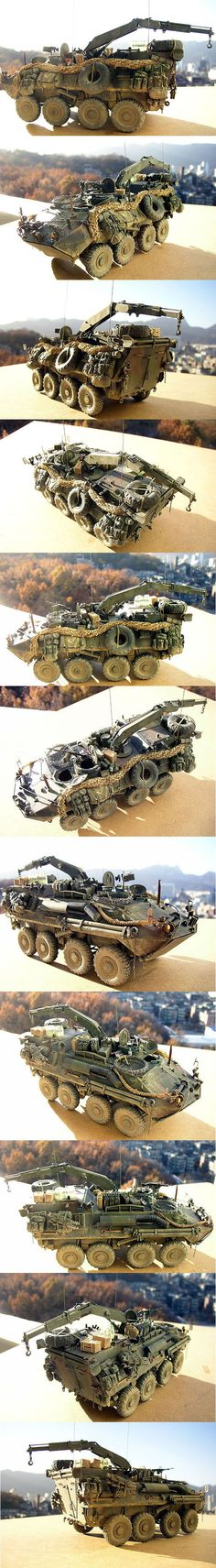 LAV-R 1/35 scale model