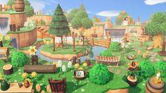 Animal Crossing Wild World, Animal Crossing Memes, Animal Crossing Qr Codes Clothes, Animal Crossing Pocket Camp, Ac New Leaf, Motifs Animal, Cute Games, Folk, Island Design