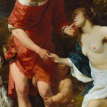 Venus and Adonis, Ferdinand Bol, 1657 - 1660 - Rijksmuseum