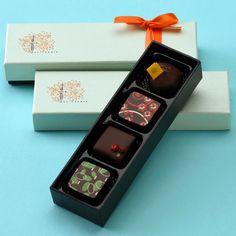 Jin Patisserie chocolate packaging