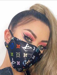 Aesthetic Grunge, Aesthetic Girl, Baddie, White Face Mask, Masks For Sale, Diy Mask, Fashion Face Mask, Mask Design, Fashion 2020