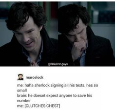 why Sherlock signs his texts x'O (headcanon accepted!)