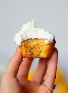 This recipe for Paleo Lemon Cupcakes is a sweet and tangy gluten-free dessert, made with fresh lemon juice and sweetened with honey.