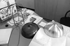 tommaso caldera innovates workshop lighting with tull lamp - designboom | architecture & design magazine