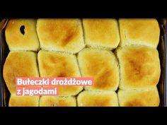 Bułeczki drożdżowe z jagodami - Swiatciast.pl