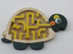 Marble  Turtle Maze by scrollsaw650 on Etsy,