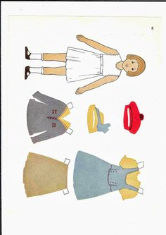 More USA Paper dolls - Ulla Dahlstedt - Picasa Webalbum