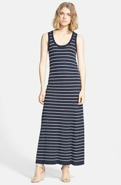 Vince Stripe Maxi Dress available at #Nordstrom