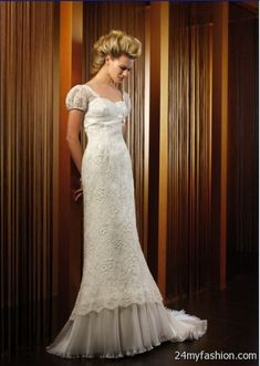 40ed967d19ce French lace wedding dresses review Check more at https://24myfashion.com/