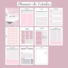 No vídeo de hoje, trouxe 6 dicas de como organizar a sua rotina de limpeza semanal. Dá o play! Planner 2018, Mom Planner, Agenda Planner, School Planner, Study Planner, Planner Pages, Weekly Planner, Planner Stickers, Bujo Planner