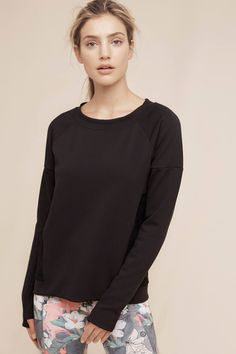 Lace-Backed Pullover