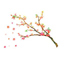 Cherry Blossom Decorative Vinyl Wall Art Sticker Decal Cherry,http://www.amazon.com/dp/7807627085/ref=cm_sw_r_pi_dp_PAk3sb0SE0HTE317