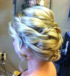 My Prom hair!!
