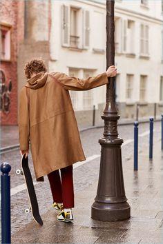 Harold Vente Dons Hermès for Buro Singapore The Fashionisto, Singapore, Editorial, Menswear, Coat, Sewing Coat, Men Wear, Peacoats, Men's Clothing