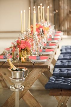 This has to be one of the most beautifully styled events I have ever seen. So classy.