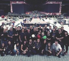 1D camera crew + Harry and his dad