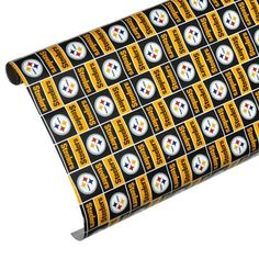 Pittsburgh Steelers Spirit Block Wrapping Paper