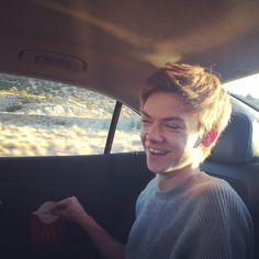 Thomas Brodie sangster once again you've managed to take my breath away.