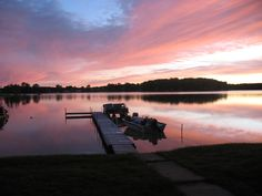 Another sunset at that beautiful Michigan lake.
