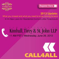 Online >> NAWRB Call4All 2013 Update: What You Missed & What You Need to Know Moving Forward