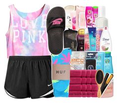 """."" by alismarie234 ❤ liked on Polyvore featuring NIKE and HUF"