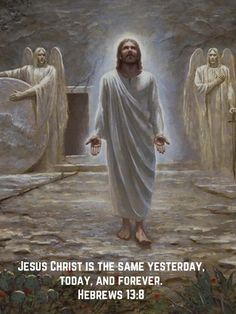 Jesus Christ is the same yesterday, today, and forever. Jesus Our Savior, Christ Is Risen, Jesus Art, King Jesus, God Jesus, Pictures Of Jesus Christ, Religious Pictures, Christian Images, Jesus Christ