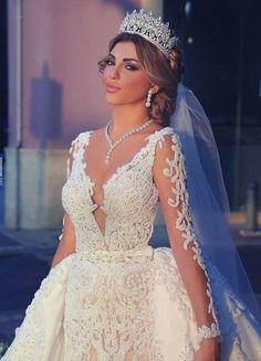 6 Impressive Long Sleeve Wedding Dress Modest A Line Easy And Cheap Ideas.Satin Wedding Dress