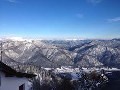 Monte Lussari - Friaul  Aussicht auf die Julischen Alpen Mount Everest, Mountains, Nature, Travel, Italy, Naturaleza, Viajes, Destinations, Traveling